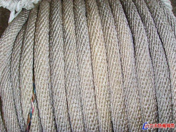 立体编安全绳-十二股编织安全绳-菱形编