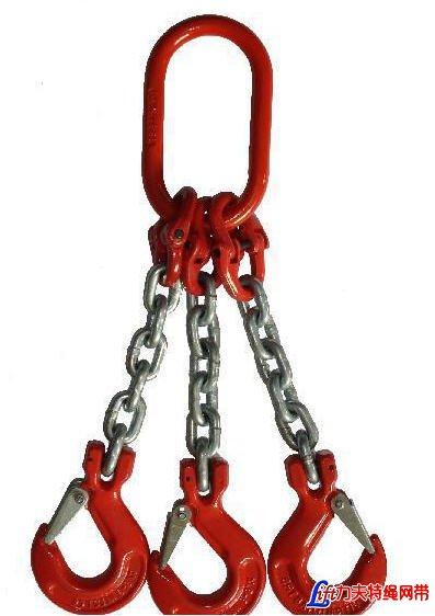 锰钢起重链条_起重链条_高强度起重链条_组合链条吊具_G80锰钢吊装链