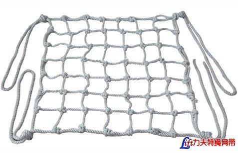 尼龙绞制绳吊网_尼龙绞制绳吊货网_大型