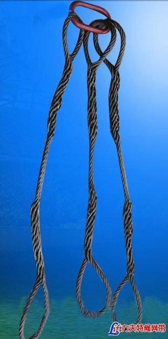 三腿钢丝绳成套索