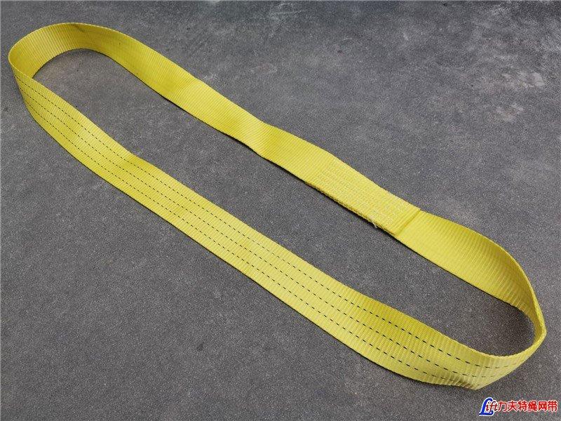 <b>扁平 环形 吊带 柔性 起重 带 绳 货物 一次性 定制 钢管 钢材 工业 行车</b>