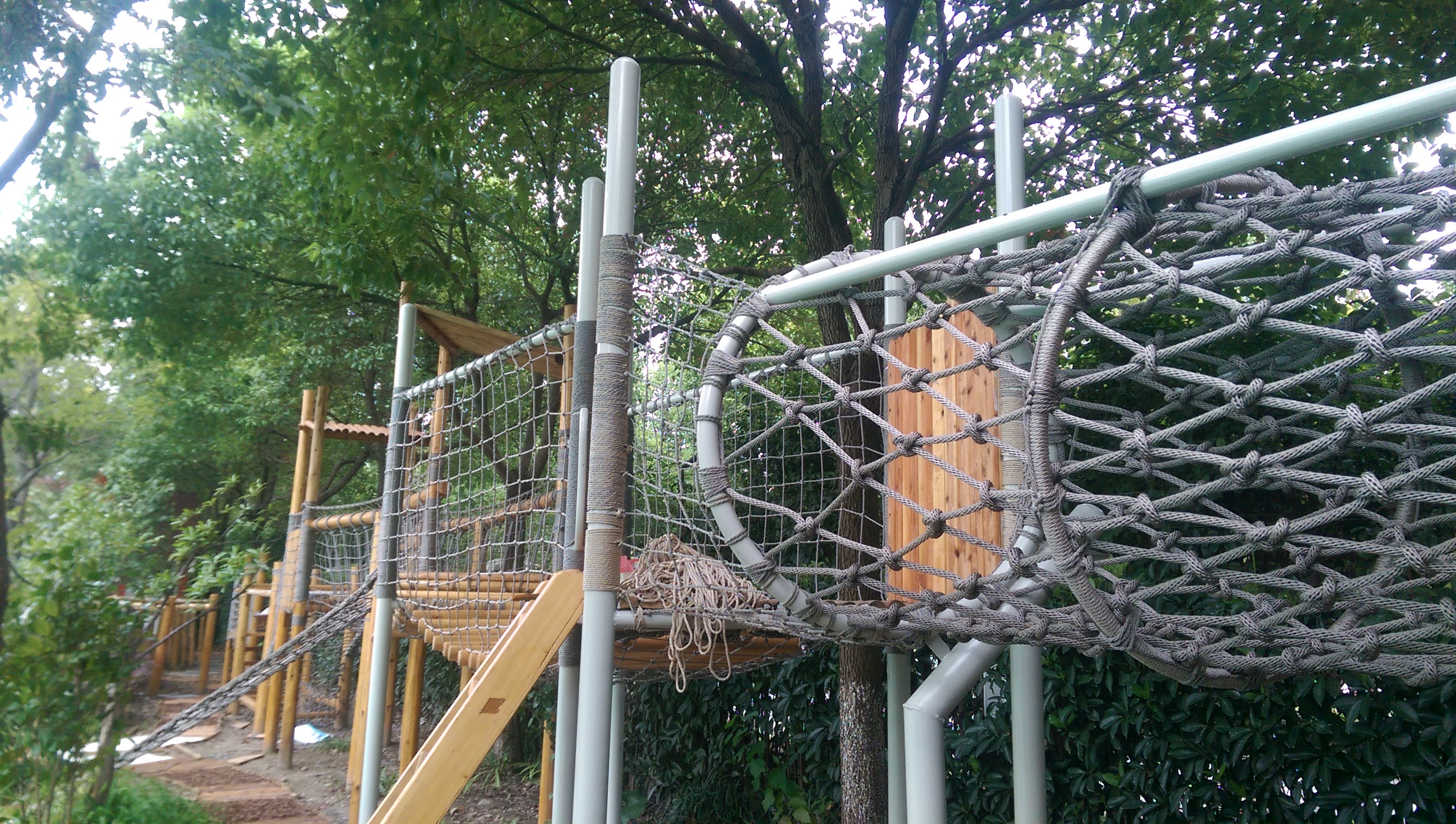Popular Playground Kids Climb Safety Rope Net Climb